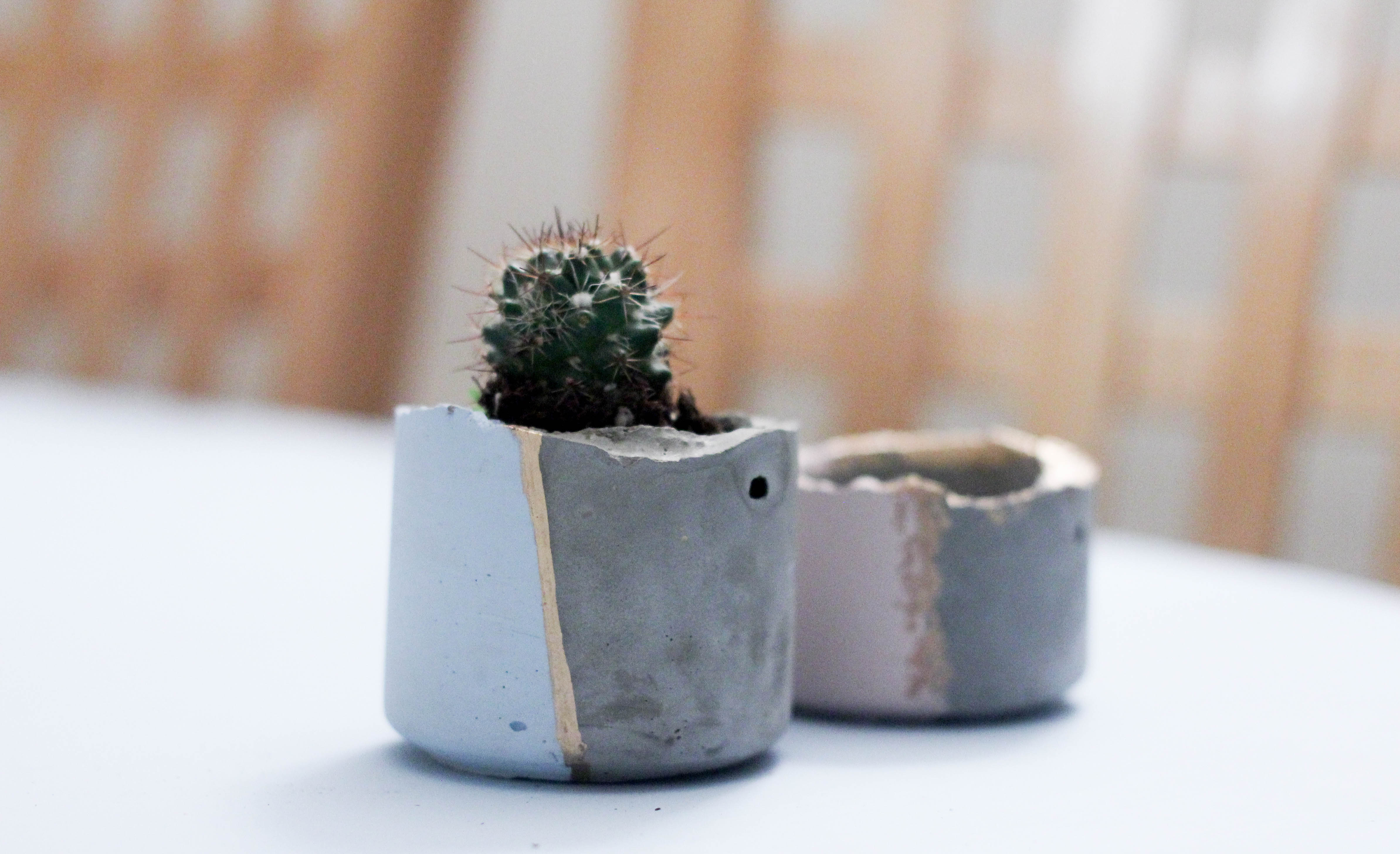 concrete triangle planter cement naiise products