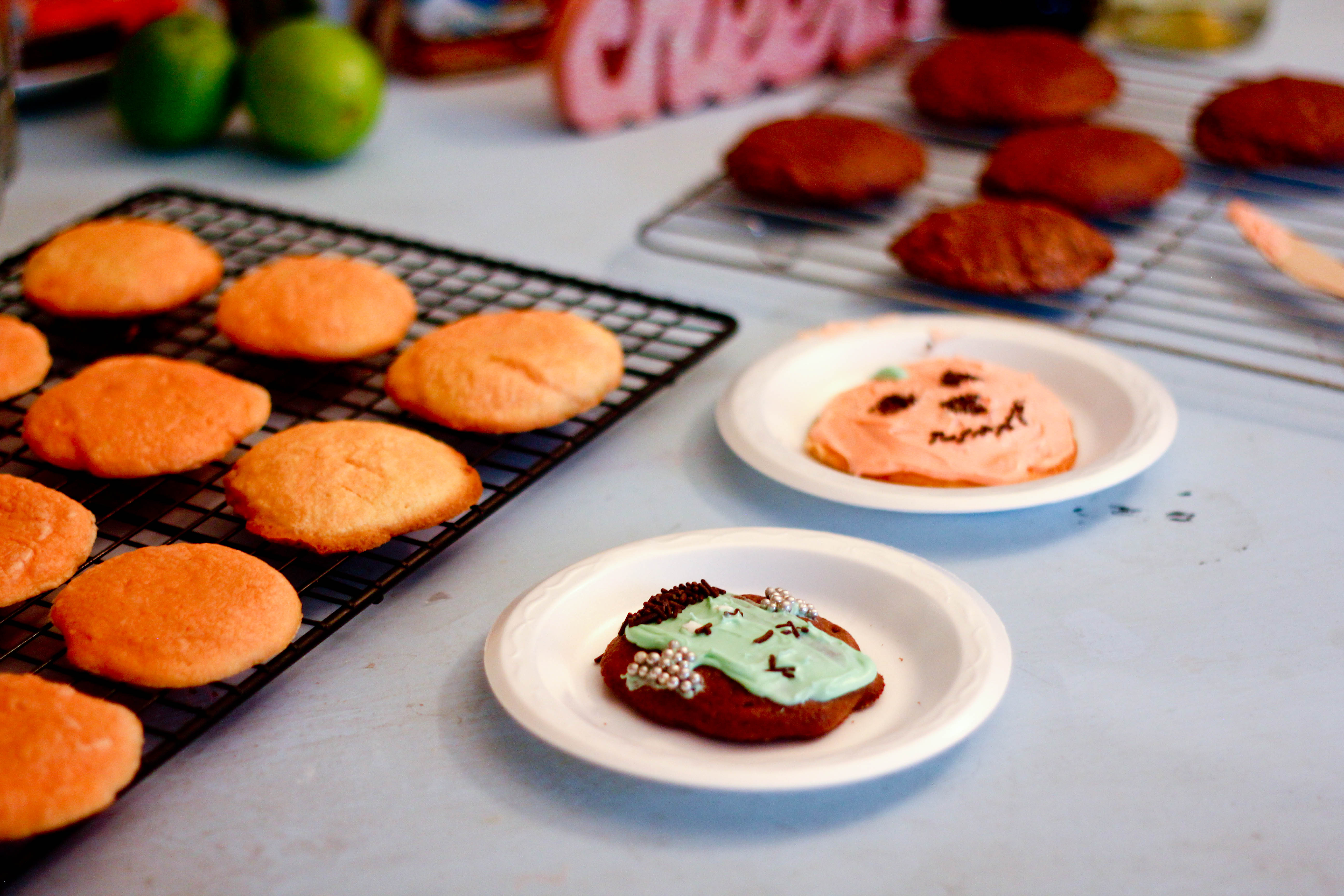 halloween cake box cookie recipe